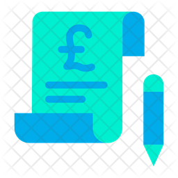 Pound Bill Icon