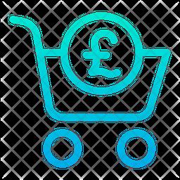 Pound Cart Icon