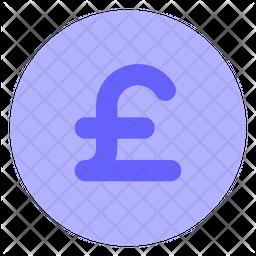 Pound-coin Flat Icon