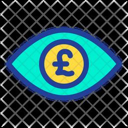 Pound Eye Icon
