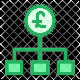 Pound Flow Icon