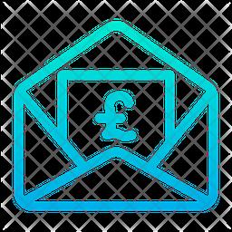 Pound Message Icon