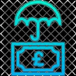 Pound Money Protection Icon