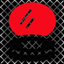 Powder Glyph Icon