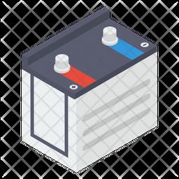 Power Battery Isometric Icon