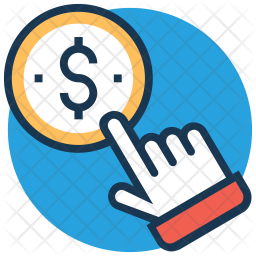 PPC Colored Outline Icon