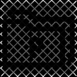 Pptx folder Icon