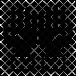 Pray Glyph Icon