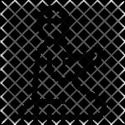 Prayer Line Icon