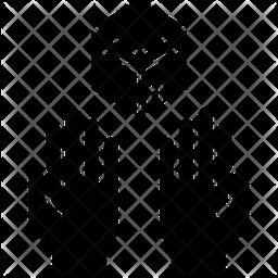 Prayer Glyph Icon