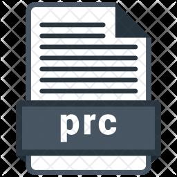 Prc file Icon