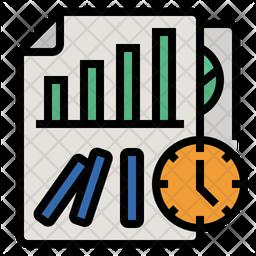 Predict Future Trends For Minimize Risks Icon