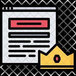 Premium blog Icon
