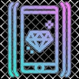 Premium Mobile Icon