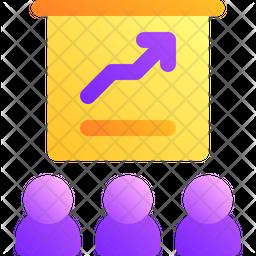 Presentation Gradient Icon