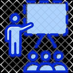 Presentation Colored Outline Icon