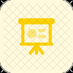Presentation Shape Flat Icon