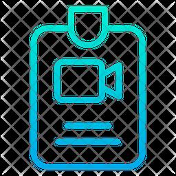 Press Gradient Icon