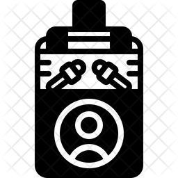 Press Glyph Icon