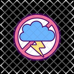 Prevent depression Colored Outline Icon