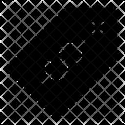 Price Tag Glyph Icon