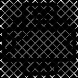 Printer Doodle Icon