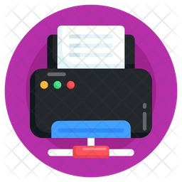 Printer Network Icon