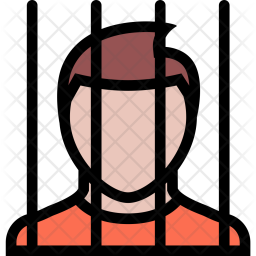 Prisoner, Law, Crime, Judge, Court, Police Icon