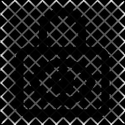 Privacy Lock Line Icon