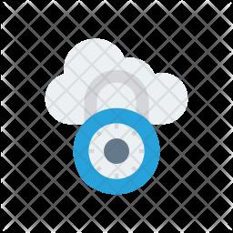 Private Cloud Icon