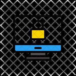 Private Computer Icon