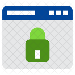 Private Website Flat Icon