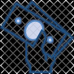 Prize Colored Outline Icon