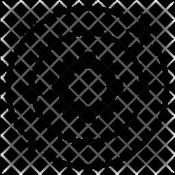 Process Glyph Icon
