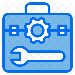 Process Tool Colored Outline Icon