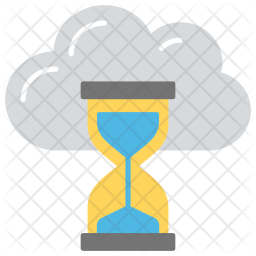 Processing time Flat Icon