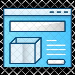 Product presentation Icon