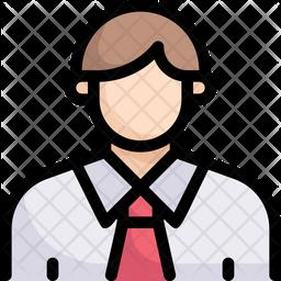 Professional Employee Icon