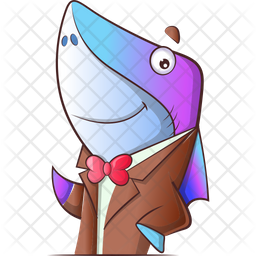 Professional Fish Icon