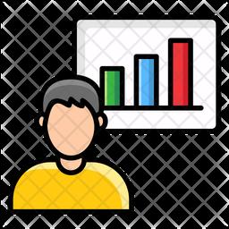 Profile Chart Icon