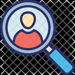 Profile finder Icon