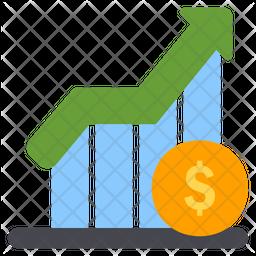 Profit Flat Icon