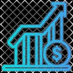 Profit Gradient Icon