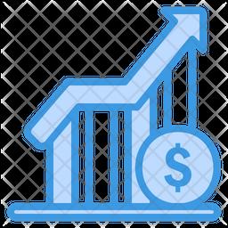 Profit Dualtone Icon