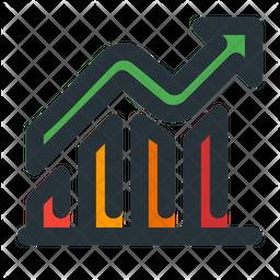 Profits Colored Outline Icon