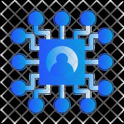 Program Algorithm Gradient Icon