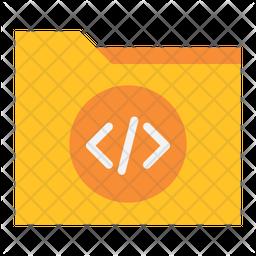 Programing File Folder Flat Icon