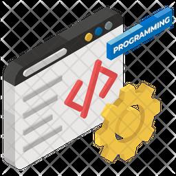 Programming Isometric Icon