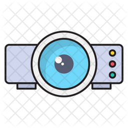 Project Colored Outline Icon