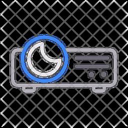 Projector Line Icon